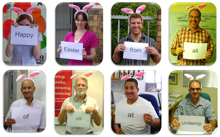 Happy Easter from all of us at unitemp!