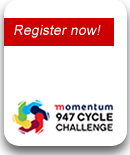 Register now: Momentum 947 Cycle Challenge
