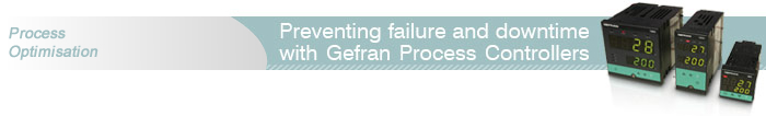 Preventing failure and downtime with Gefran Process Controllers