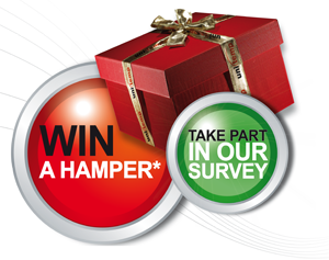 take part and win a hamper