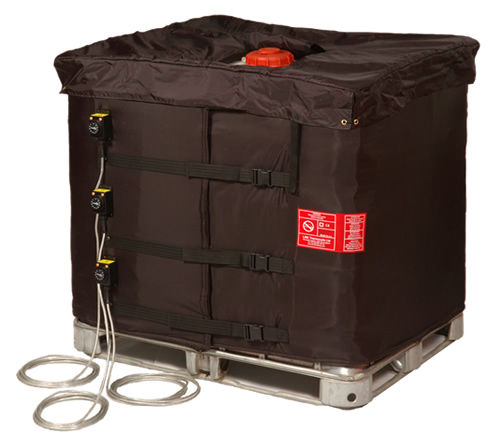 intermediate bulk container insulated lid heater cover thermon africa. Black Bedroom Furniture Sets. Home Design Ideas