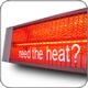 Heating solutions for production processes in colder winter climate