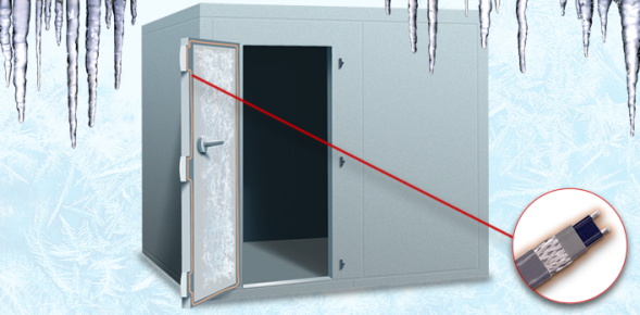Heat Tracing for cold rooms & freezer doors