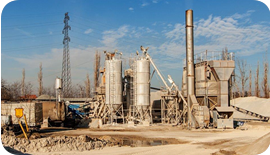 Bitumen production plant