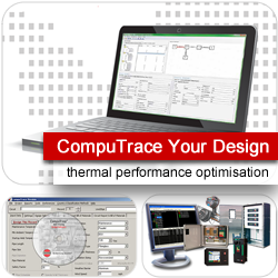CompuTrace your design: thermal performance optimisation