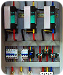 Custom built control panels for plastics processing