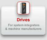 Drives for system integrators & machine manufacturers