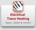Electrical Trace Heating: tapes, cables & control