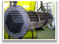 Flanged Heater for petrochemical process