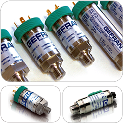 Pressure Transmitters & Transducers