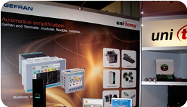 GEFRAN: Geflex, Wattcor, SSRs, Sensors & Transducers: unitemp exhibits at the Process Expo Johannesburg
