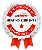 Heating Elements with 12 months warranty