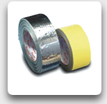 Heat Tracing Alu-Tape, 50mm up to 90°C
