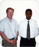 PISA conference: Andrew Semple with Vishnu Colan