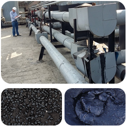 Trace heating for bitumen storage, pipelines & road tankers