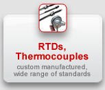 RTDs, Thermocouple Sensors