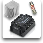 Solid State Relays, Fuses & Heatsinks