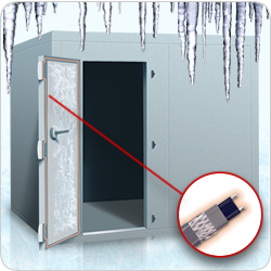 Low temperature heat tracing solutions for the refrigeration industry