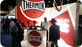 Thermon SA exhibits at the Oil & Gas Africa 2015 - 01