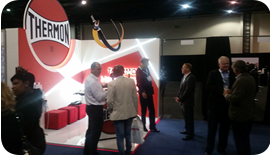 Thermon SA exhibits at the Oil & Gas Africa 2015 - 03
