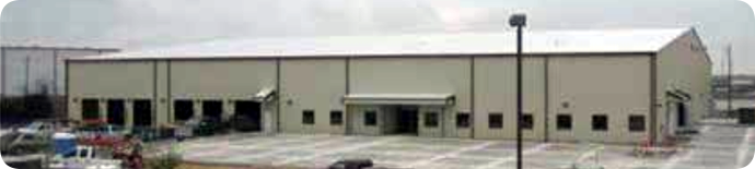 Thermon's new warehouse in San Marcos