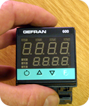 Gefran 600 PID controller set-up training by unitemp