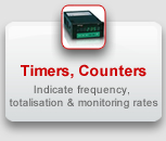 GEFRAN Timers, Counters, Frequency Meters